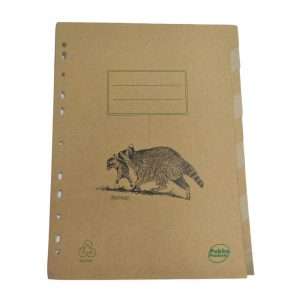 10 Recycled Subject Dividers