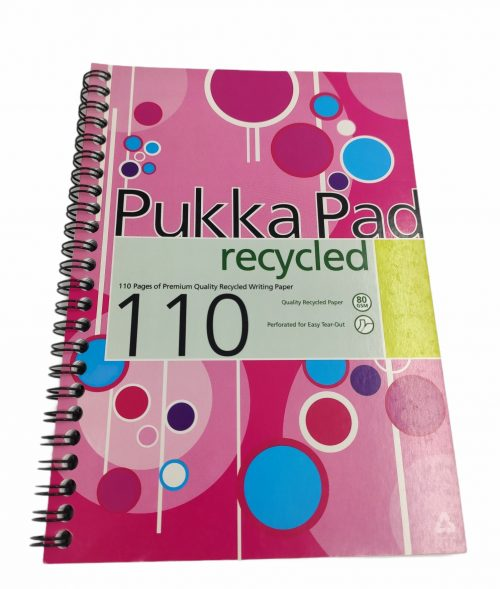 Recycled Notebook A5 Pukka Pad