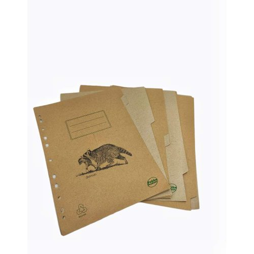 5 Recycled Subject Dividers