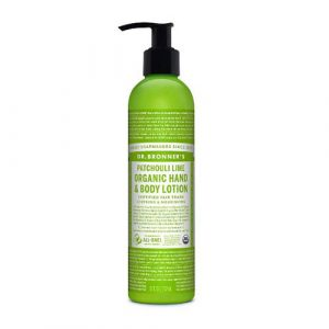 body lotion patchouli lime