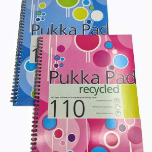 Recycled Notebook A4 Pukka Pad