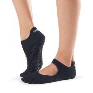 socks grip bellarina black