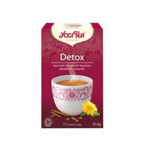 Yogi tea αποτοξίνωση
