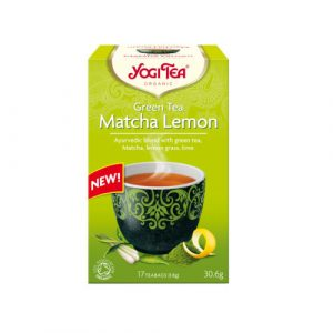 YOGI TEA Τσάι Matcha Λεμόνι