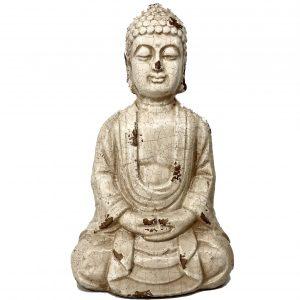 ceramic buddha meditative