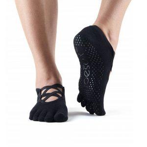 Κάλτσες ToeSox Elle - black