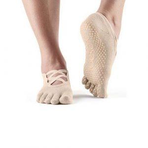 Κάλτσες ToeSox Elle - nude