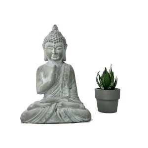Buddha cement grey