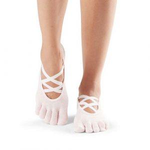 Κάλτσες ToeSox Elle - ballet pink