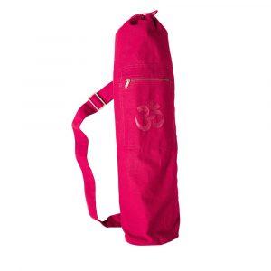 om yoga mat bag pink