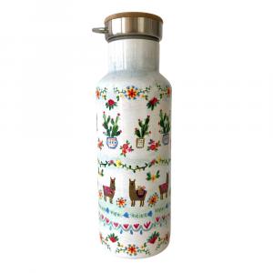 water bottle white lama