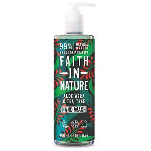 faith in nature hand wash 400ml