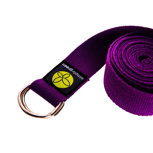 Yoga Belt purple 1000x1000