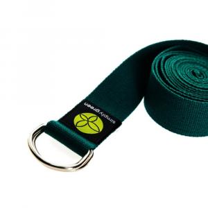 yoga belt forest green 1000x1000