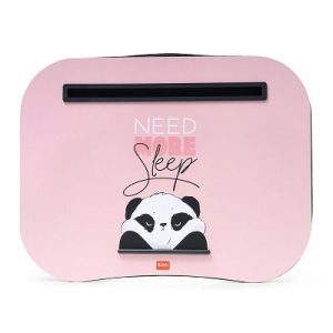 panda laptop tray pink