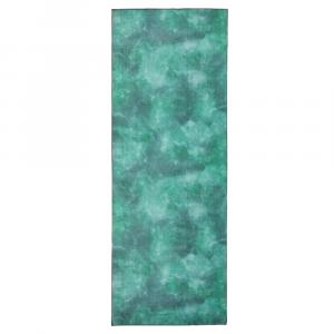 camo tie dye greens manduka towel