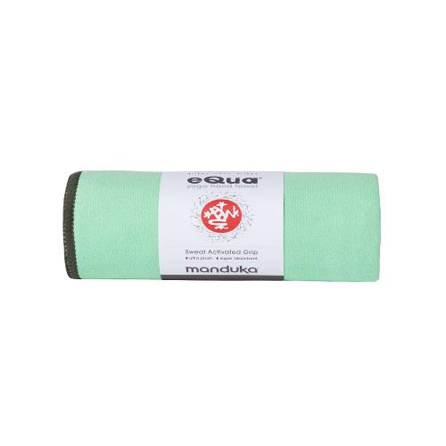eQua mat Towels Green Ash1