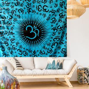 OM Symbol Wall Tapestry
