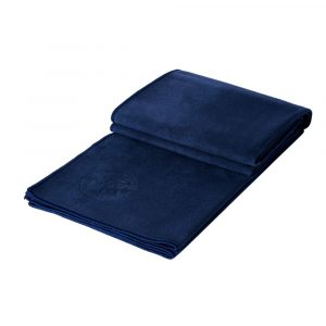 Manduka eQua Yoga Towel - Midnight Blue